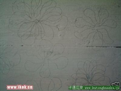 细胞铅笔手绘图
